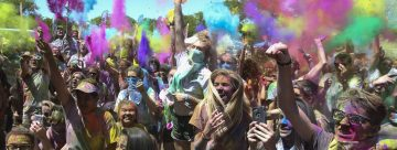 Holi Festival of Colors brings positive vibes, bursts of bright hues to Ogden