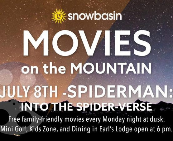 Movies on the Mountain Featuring Spiderman: Into the Spider-Verse