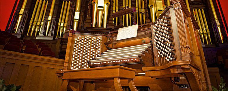Temple Square organists to resume noon recitals — virtually, of course